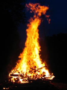 Bonfire from Tim and Mary\'s